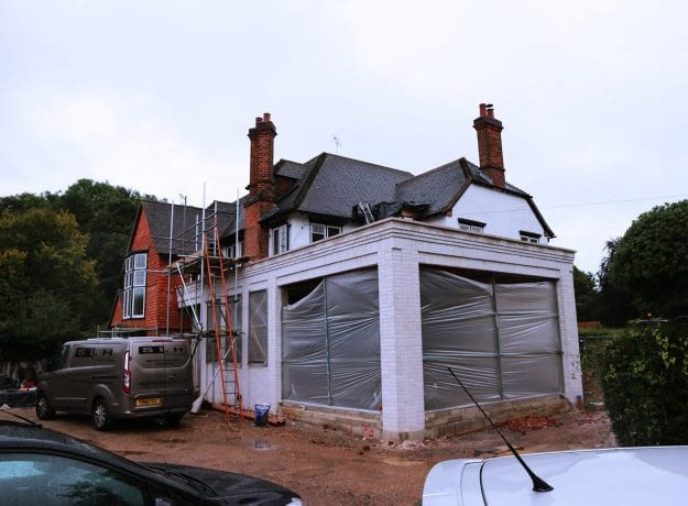 Side Extension @ Harpsden, Henley on Thames